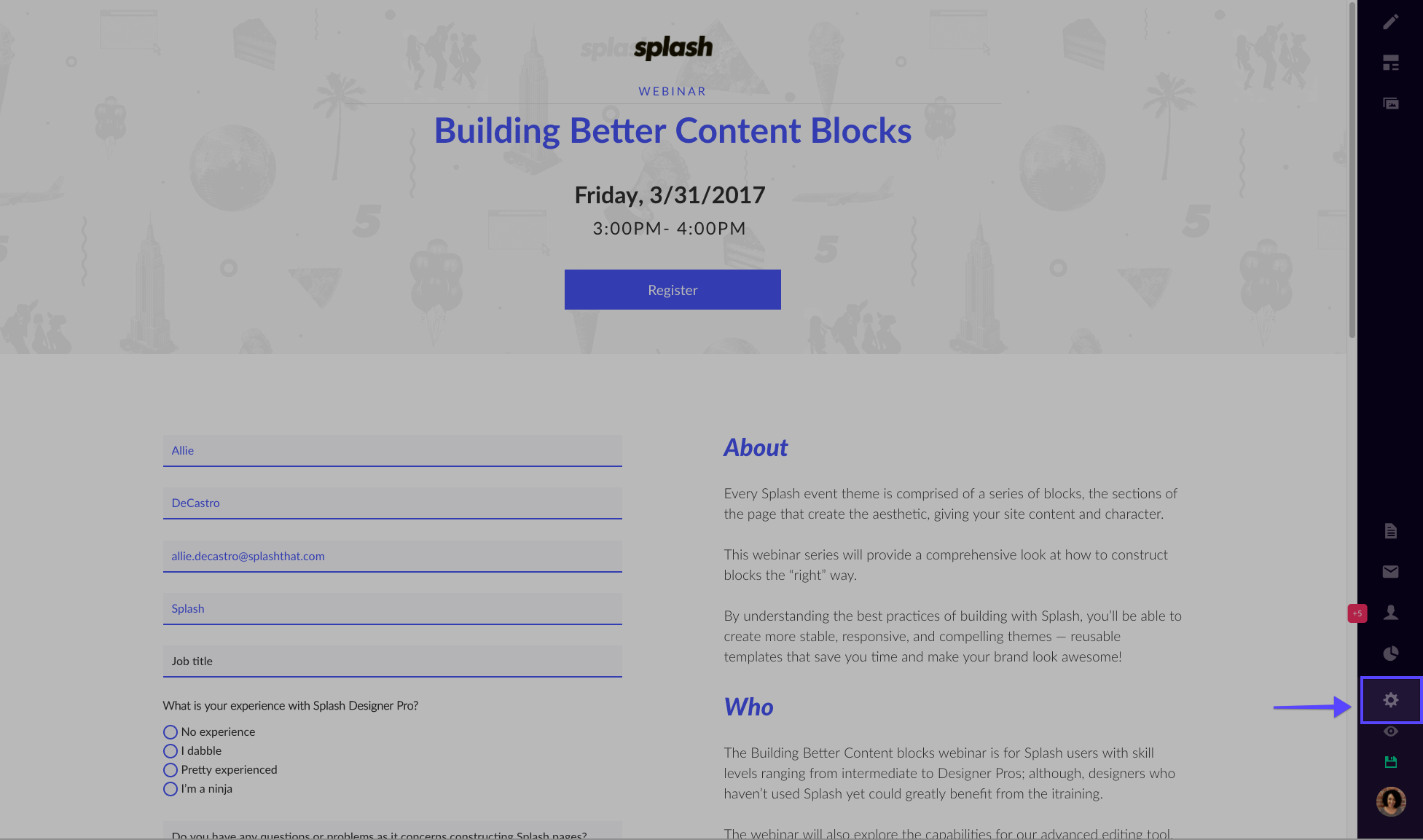 3/16/17 - Building Scalable Email Templates – Splash Help Center
