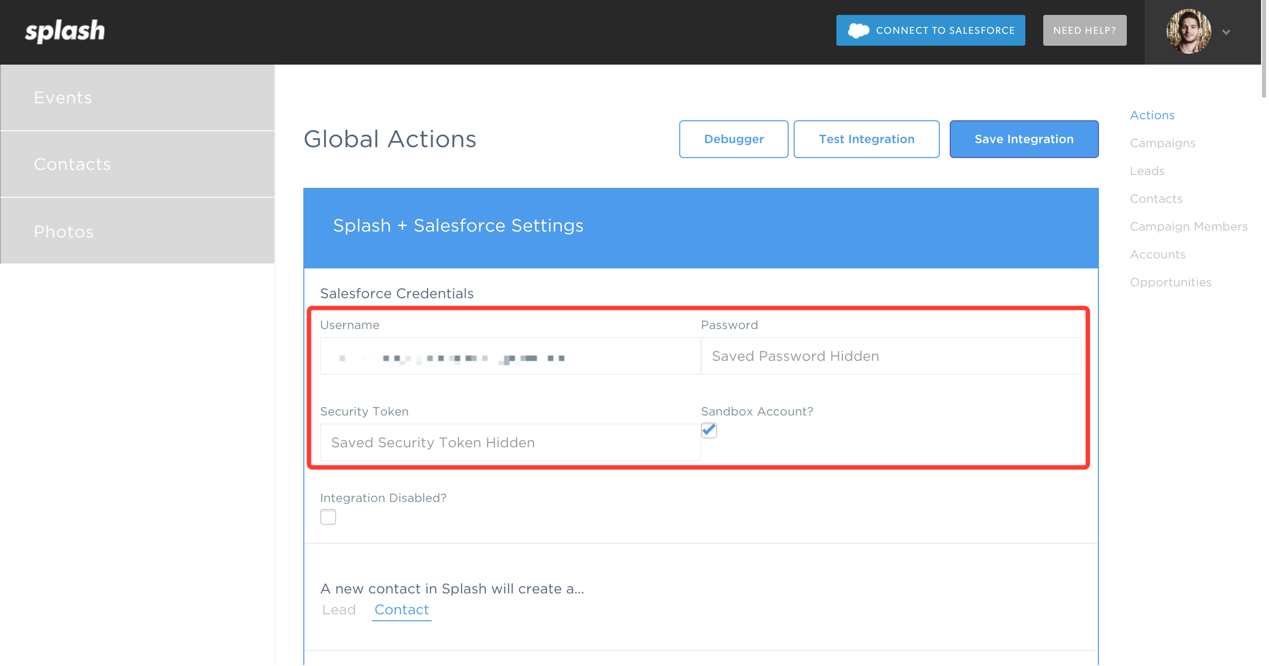 how to connect to salesforce sandbox