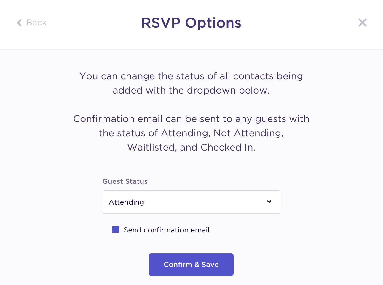 How Do I Add Confirmed Attendees Splash Help Center
