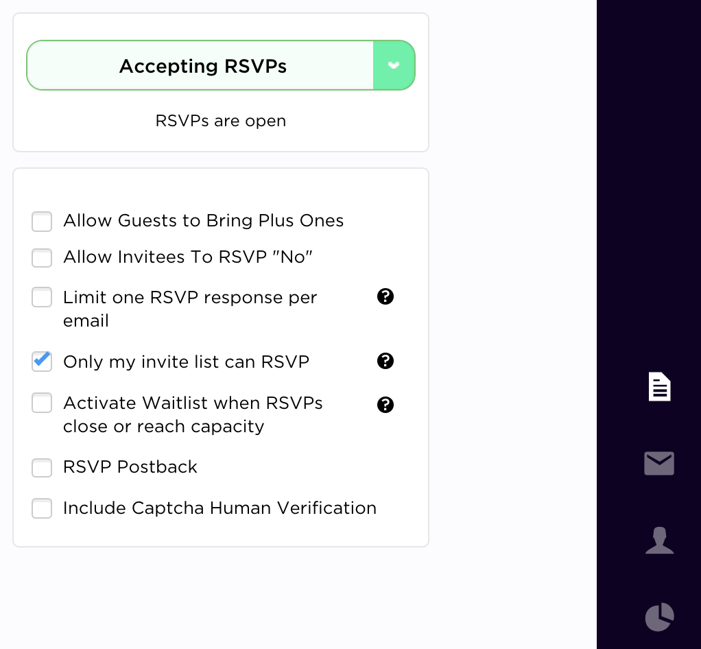 How do I add my own questions to the RSVP form or ticket check-out ...